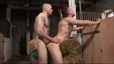 Young Gay Couple Loves Wild Hardcore Fuck in Open