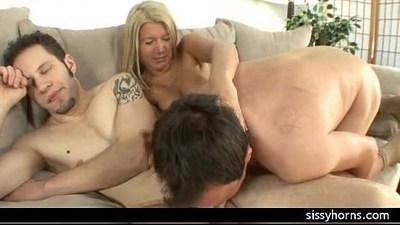 cuckold humiliation interracial sissy orgy wife big cock milf slut