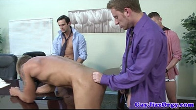 Jacob Marteny and pals fuck in office