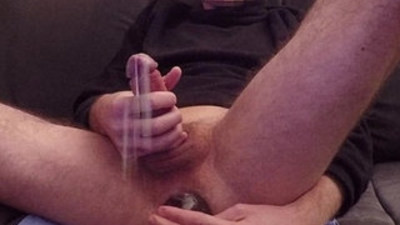 SUPER EXPLOSIVE CUMSHOT AND ANAL ORGASM BOTTLE FUCK