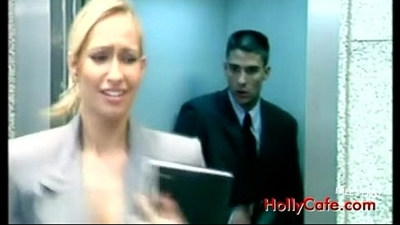 In the elevator with Sophie Evans, Oral Sex Blonde Blowjob Pornstar Lingerie Office Cum Shot Threeso