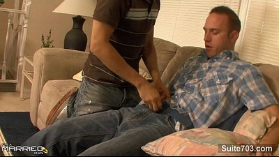 Horny married guy gets fucked well by a gay