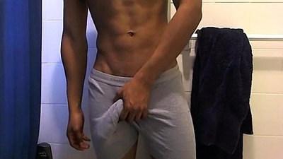 Showering my beautiful body