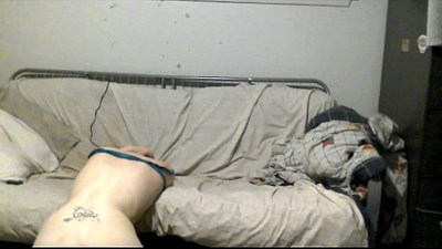 Whitetrash girl loves getting her pussy fucked in the ass