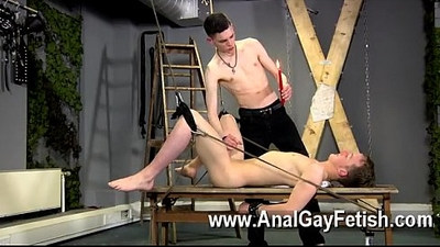 Gay XXX Aaron use to be a gimp man himself, and he picked up a lot of
