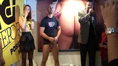 Hot stripper with a horny guy