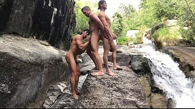 gorgeous men naked in outdoor