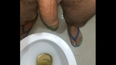 Indian guy uncircumsided massaged dick